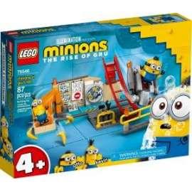 Giochi LEGO - 75546 - MINIONS NEL LABORATORIO DI GRU