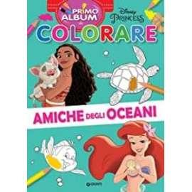 Libri W.DISNEY - COLORARE AMICHE DEGLI OCEANI