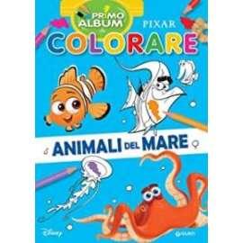 Libri W.DISNEY - COLORARE ANIMALI DEL MARE