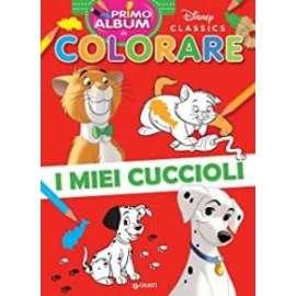 Libri W.DISNEY - COLORARE I MIEI CUCCIOLI