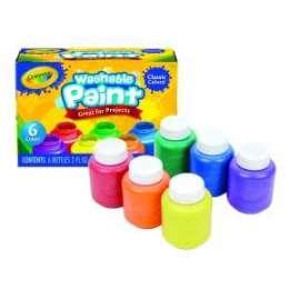 TEMPERE Crayola LAVABILI conf.6 colori