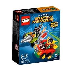 Giochi LEGO Mighty Micros - 76062 - ROBIN VS BANE