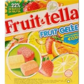 Dolci PERFETTI - FRUITTELLA  BUSTA 90gr conf.18pz - GELEE*****