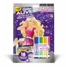LIBRI  da Colorare CRAYOLA COLOR ALIVE (Realta Aumentata)  pvp.4,90 - BARBIE