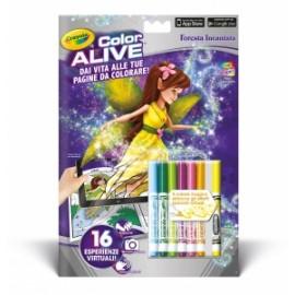 LIBRI  da Colorare CRAYOLA COLOR ALIVE (Realta Aumentata)  pvp.4,90 - FORESTA INCANTATA