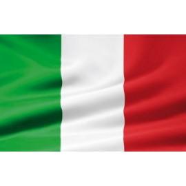 BANDIERA ITALIA SENZA ASTA 100x140cm