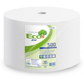 Strofinaccio Industriale a Rotolo ECO 500