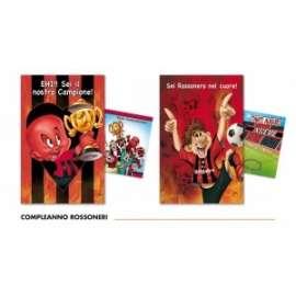 Biglietti Calcio LIGHT & SOUND ROSSONERI conf.12pz