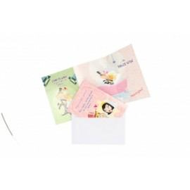 Biglietti Matrimonio POP-UP FUNNY PEOPLE conf.12pz