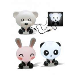*OFFERTA LAMPADA FORMA ANIMALE C/PRESA USB