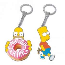 *OFFERTA THE SIMPSONS PORTACHIAVI METALLO