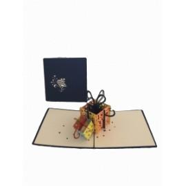 Biglietti Origami PACCHETTI REGALO conf.6pz