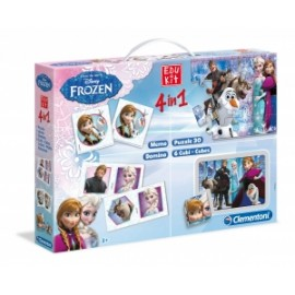 Giochi EDU KIT 4 IN 1 FROZEN
