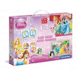Giochi EDU KIT 4 IN 1 PRINCESS