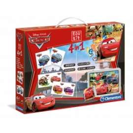 Giochi EDU KIT 4 IN 1 CARS 2