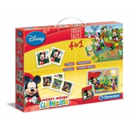 Giochi EDU KIT 4 IN 1 MICKEY MOUSE