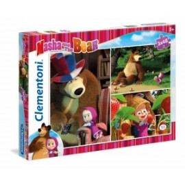 Giochi PUZZLE - 3x48 - MASHA AND THE BEAR