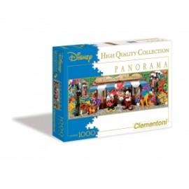 Giochi PUZZLE - 1000 -  PANORAMIC DISNEY FLOWER