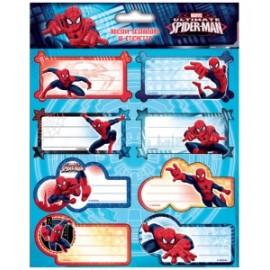 Etichette Segnanome SPIDERMAN conf.2fg 16 etichette