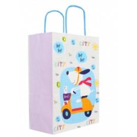 Shopper Carta 16x8x21 FANTASIA BIMBI conf.10pz