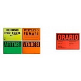 Cartello Segnaletico per Affissioni
