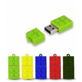 CHIAVETTA USB MATTONCINI 8GB  (Siae 0,80)