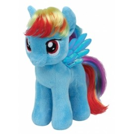 Peluche MY LITTLE PONY - RAINBOW DASH 18cm