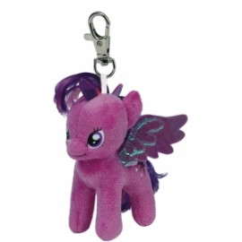 Peluche MY LITTLE PONY - TWILIGHT SPARKLE CLIP 12cm