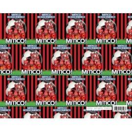 Calcio Carta Regalo 70x100cm ROSSONERI conf.10fg
