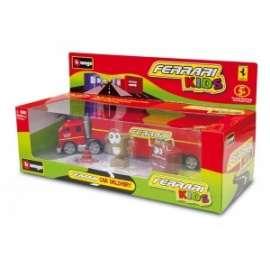 Giochi BURAGO - CAMION/CAR DELIVERY FERRARI KIDS