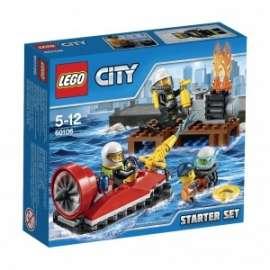 Giochi LEGO City - 60106 - STARTER SET DEI POMPIERI