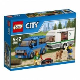 Giochi LEGO City - 60117 - FURGONE E CARAVAN
