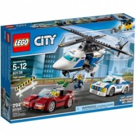 Giochi LEGO City - 60138 - INSEGUIMENTO AD ALTA VELOCITà