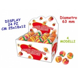 Giochi PALLINE ANTISTRESS VOLLEY diam.6,3cm