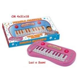Giochi PIANOLA MUSICALE CON LUCI E SUONI 26x2.5x12.5cm +3anni