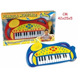 Giochi PIANOLA C/MICROFONO