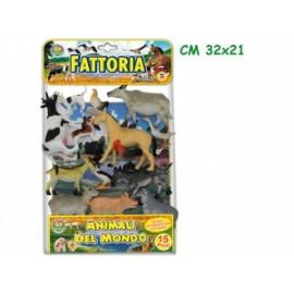 Giochi ANIMALI DELLA FATTORIA conf.15pz
