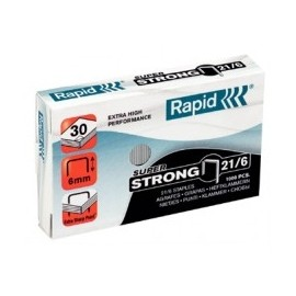 Rapid - PUNTI PER CUCITRICE S21 - 21/6mm STRONG