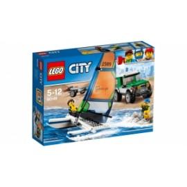 Giochi LEGO City - 60149 - PICK UP 4x4 CON CATAMARANO