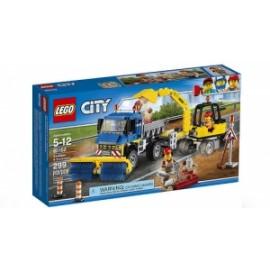 Giochi LEGO City - 60152 - SPAZZATRICE ED ESCAVATORE