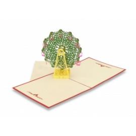 Biglietti Origami RUOTA PANORAMICA