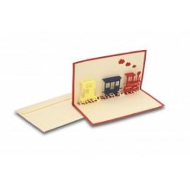 Biglietti Origami TRENINO