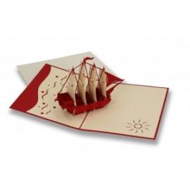Biglietti Origami VELIERO