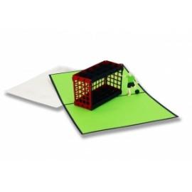 Biglietti Origami PASSIONE CALCIO