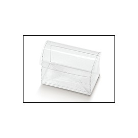 Magic-Box COFANETTO TRASPARENTE 7x4,5x5,2cm