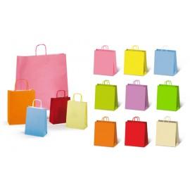 Shopper regalo tinta unita