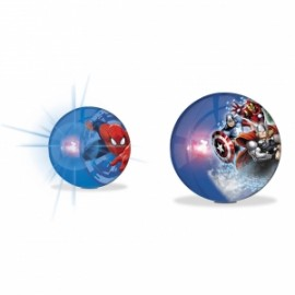 PALLE FLASH BALL MARVEL C/LUCE diam.14cm