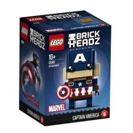 Giochi LEGO Brick Headz - 41589 - CAPITAN AMERICA