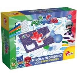 Giochi PJ MASKS SCUOLA DI DISEGNO C/SPRAY