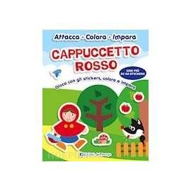 Libri EDIZIONI DEL BORGO - CAPPUCCETTO ROSSO ATTACCA COLORA